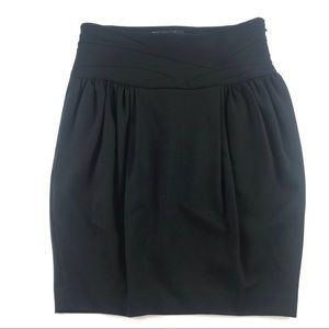 Elizabeth & James High Waist Ponte Pencil Skirt